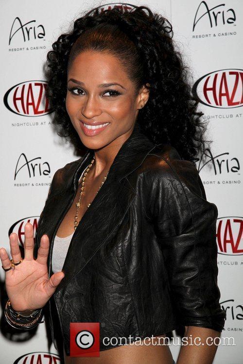 Ciara Ciara performs live at Haze Nightclub at...