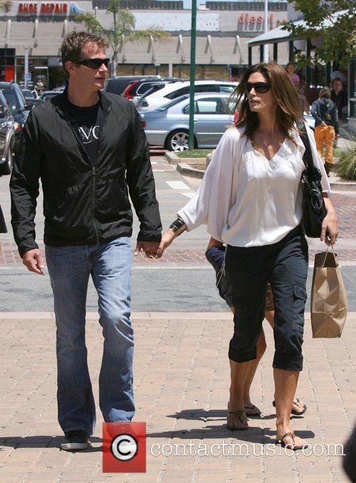 Cindy Crawford and her husband Rande Gerber Cindy...