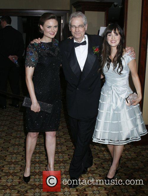 Emily Deschanel, Caleb Deschanel and Zooey Deschanel American...