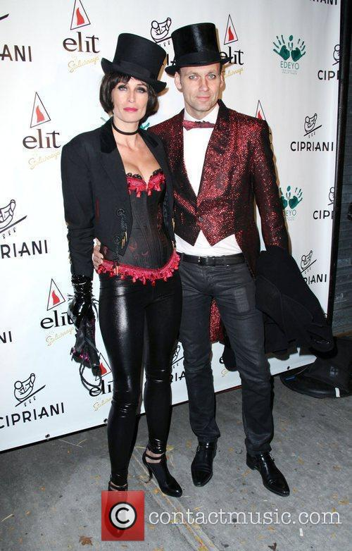 Cipriani Downtown Halloween 2010 held at Cipriani Soho
