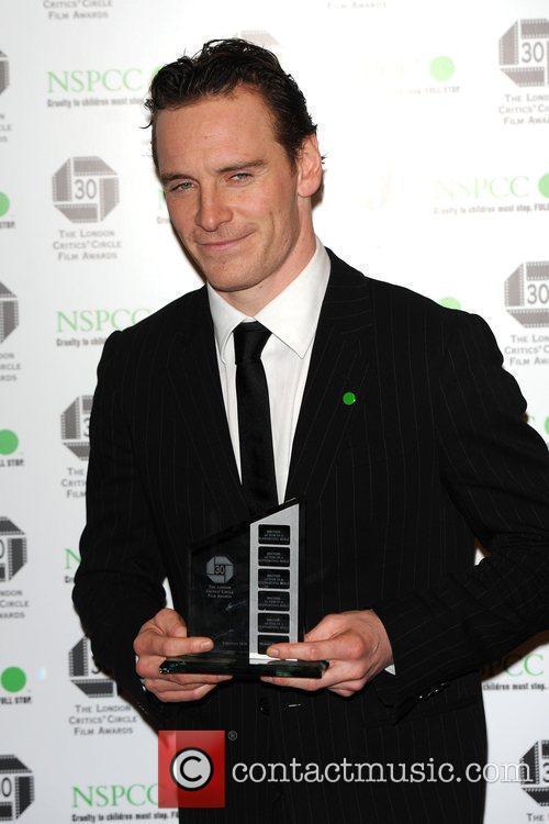 Michael Fassbender The London Critics' Circle Film Awards...