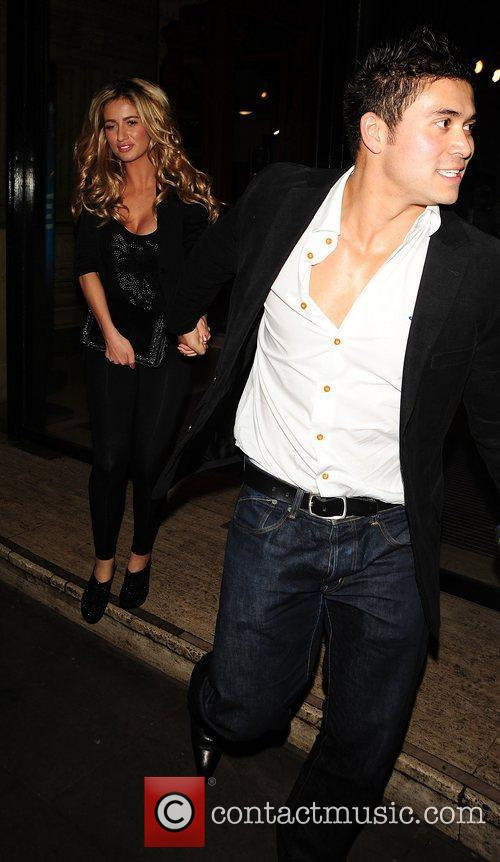 Chantelle Houghton and Rav Wilding at the Royal...