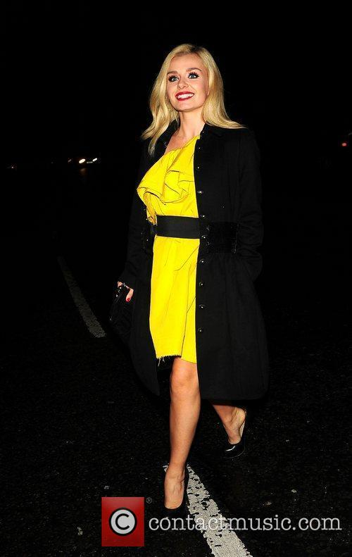 Katherine Jenkins at the Royal Albert Hall for...