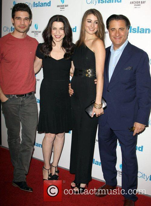Steven Strait, Andy Garcia and Julianna Margulies 4