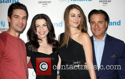 Steven Strait, Andy Garcia and Julianna Margulies 2