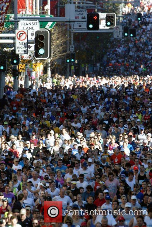 The 'City To Surf' public marathon, a 14...