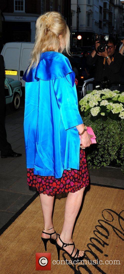 At the launch party for Diane von Furstenberg's...