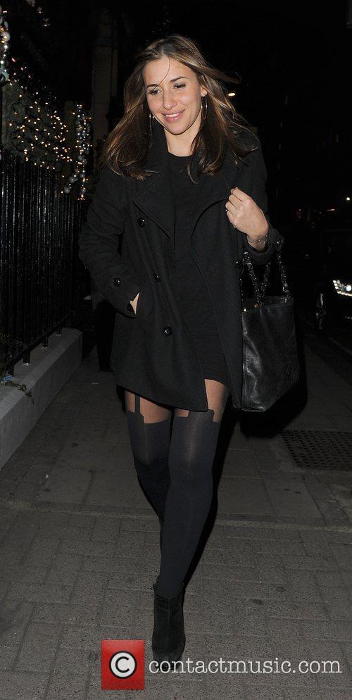 Melanie Blatt leaving the Dior private dinner, held...