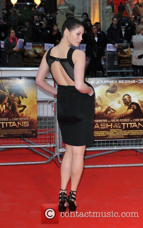 Gemma Arterton 'Clash Of The Titans' UK film...