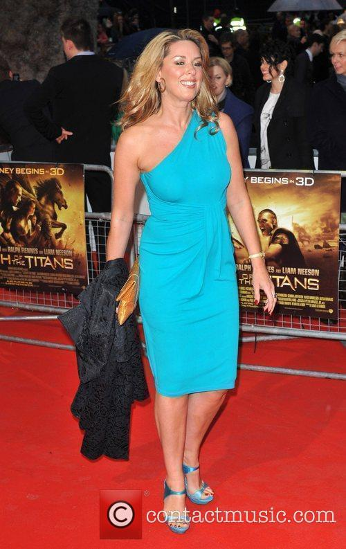 Claire Sweeney  'Clash Of The Titans' UK...