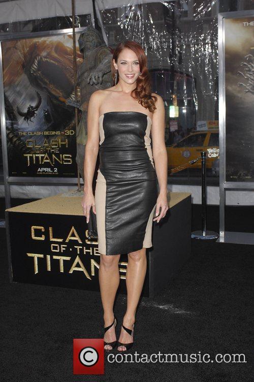 Amanda Righetti The Los Angeles Premiere of 'Clash...