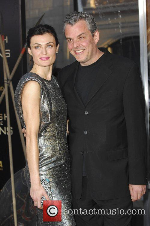 Danny Huston and guest The Los Angeles Premiere...