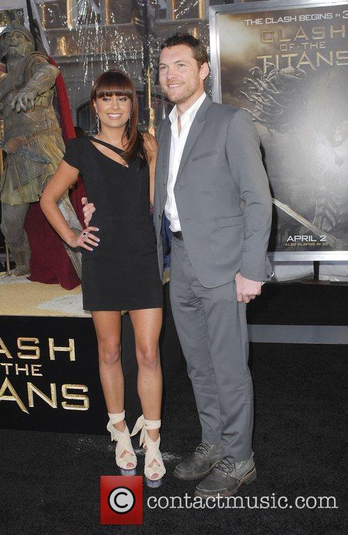 Sam Worthington and Natalie Mark 1