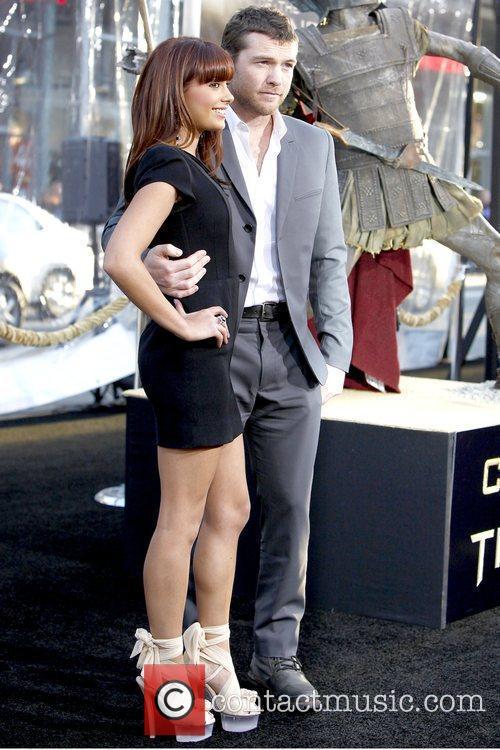 Natalie Mark and Sam Worthington  The Los...