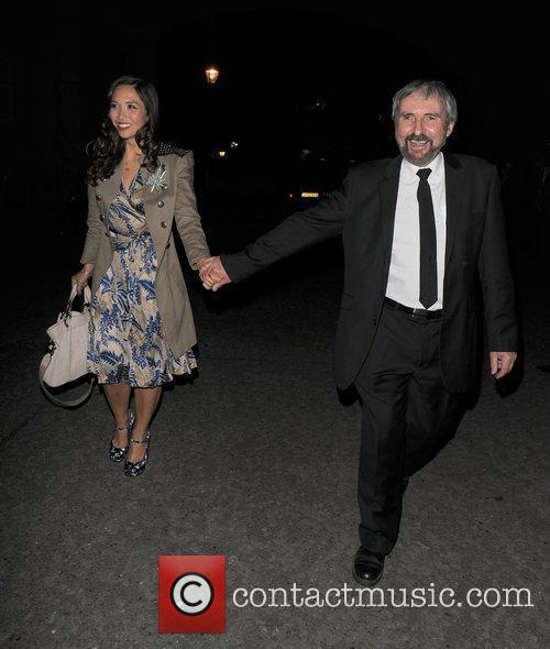 Myleene Klass and her father Oscar Klass, Classical...