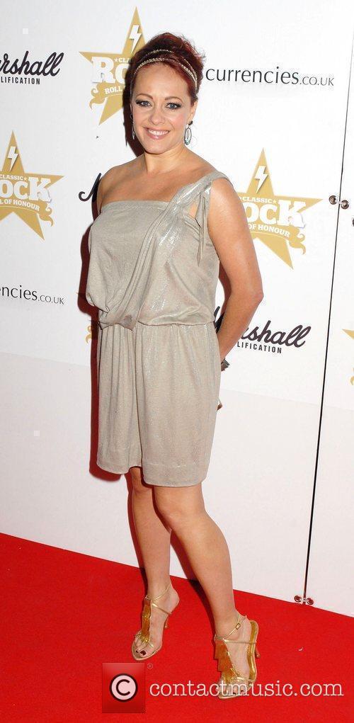 Sarah Cawood ,  at the Classic Rock...