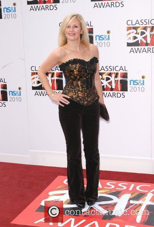 Alison Balsom The Classical Brit Awards 2010 at...
