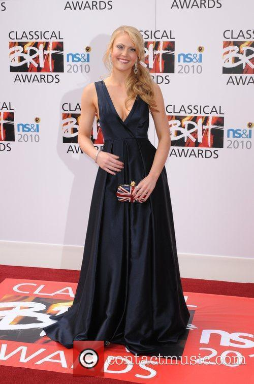 Camilla Kerslake The Classical Brit Awards 2010 at...