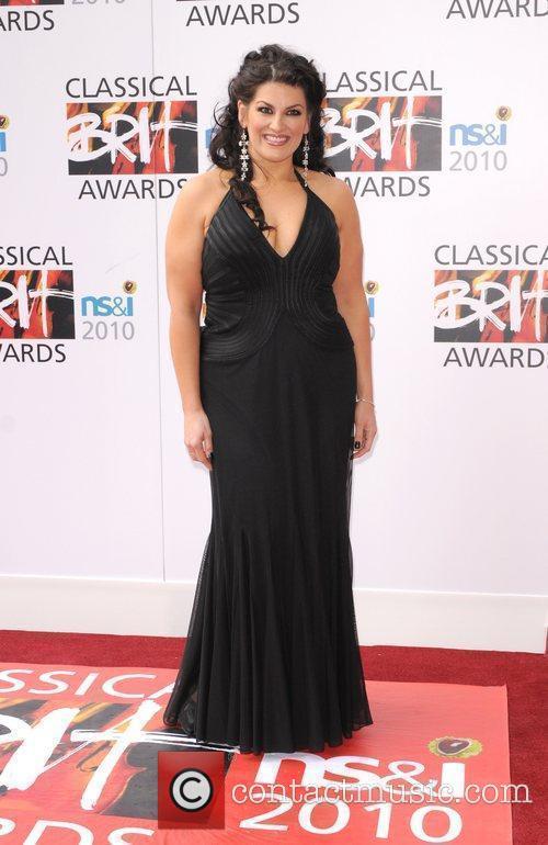 Jodie Prenger The Classical Brit Awards 2010 at...