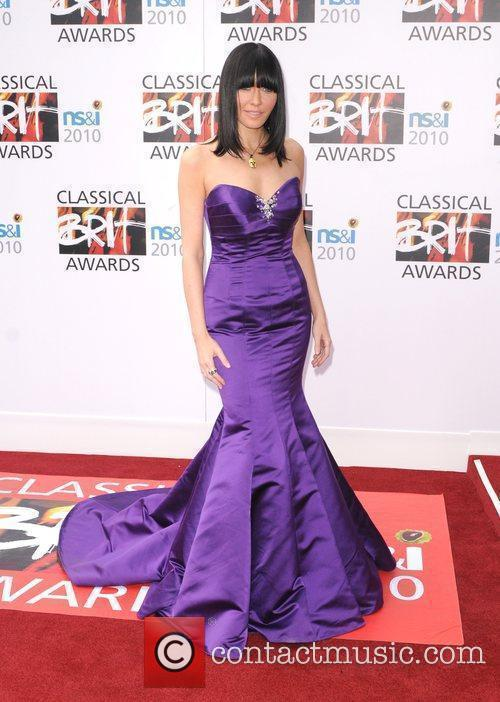 Linzi Stoppard  The Classical Brit Awards 2010...