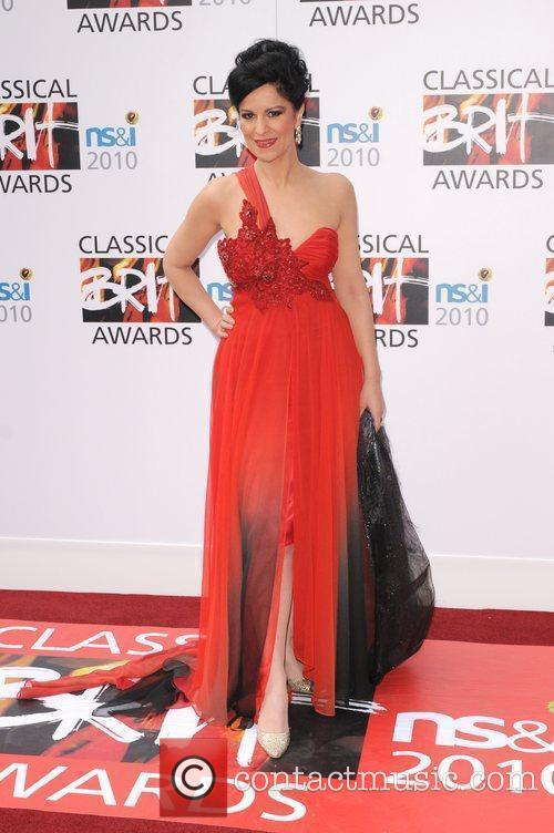 Lucia Villazon The Classical Brit Awards 2010 at...