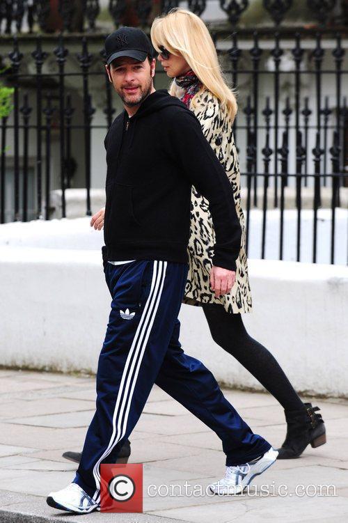 Claudia Schiffer and Matthew Vaughn take their son...