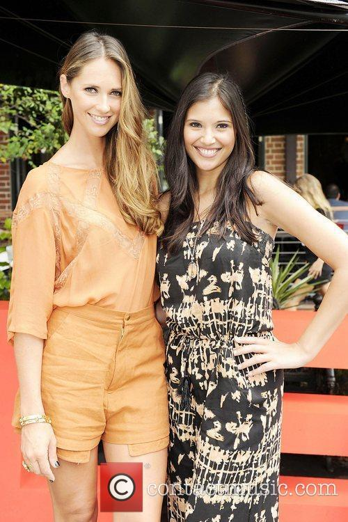 Nikki Phillips and Lyndsey Rodrigues Cleo Magazine hosts...