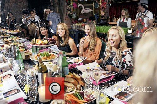 Cleo Magazine hosts a luncheon for the judges...