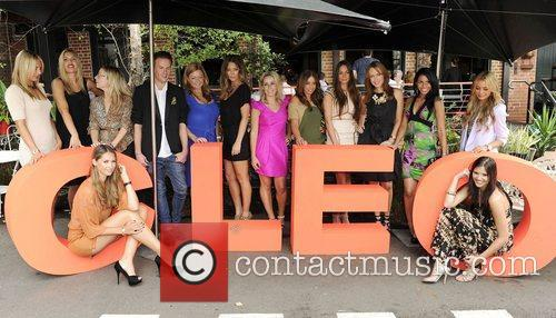 The Panel of Judges Cleo Magazine hosts a...