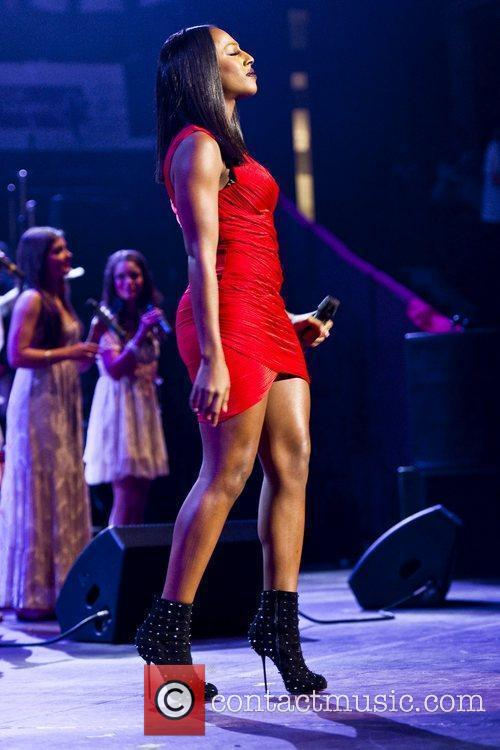 Alexandra Burke, Albert Hall and Celebration 9