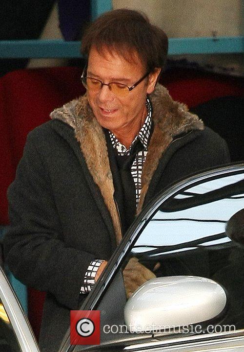 Cliff Richard leaving the ITV Studios