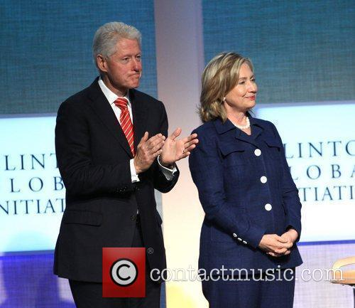 Bill Clinton and Hillary Clinton 7