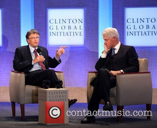 Bill Gates and Bill Clinton 5