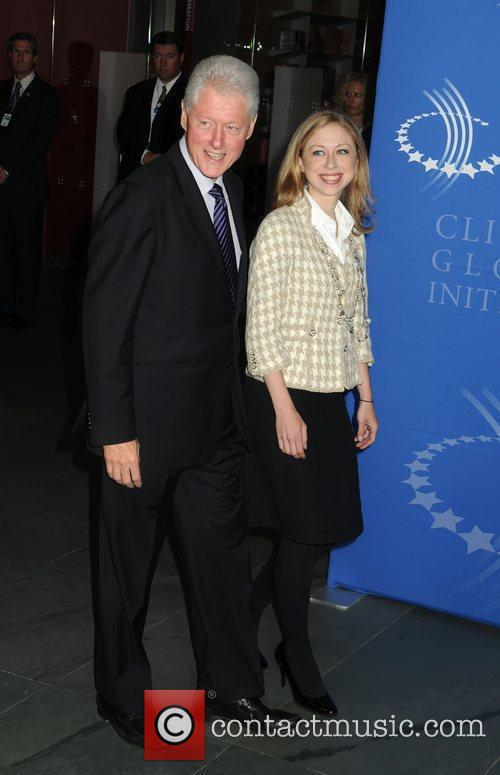Bill Clinton and daughter Chelsea Clinton The Clinton...