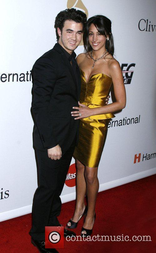 At the 2010 Annual Clive Davis Pre-Grammy Party...