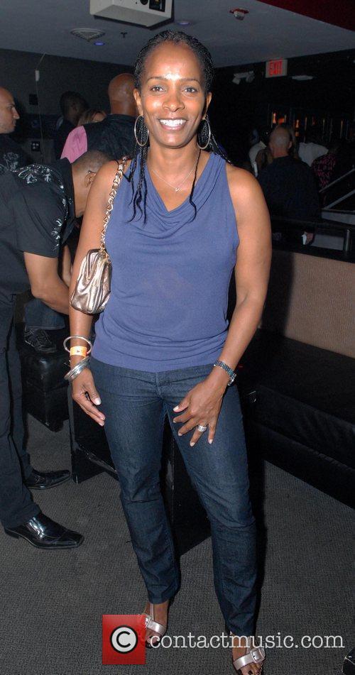 Venassa Bell Calloway parties at Club Play on...