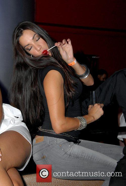 VH1 'Basketball Wives' Suzie Ketcham parties at Club...