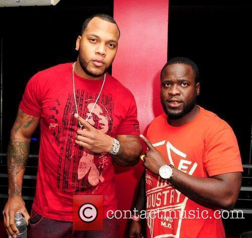 Rapper Flo Rida and Freezy at Club Play...
