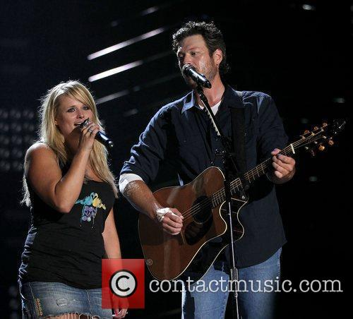 Blake Shelton and Miranda Lambert 1