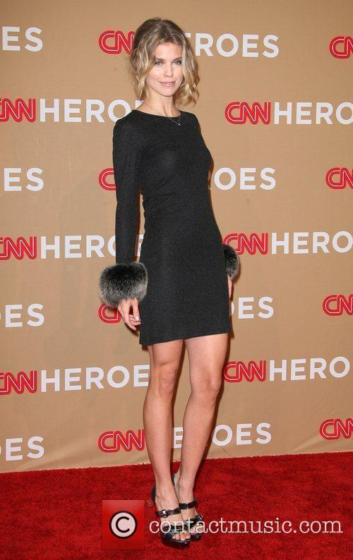 AnnaLynne McCord and CNN 4