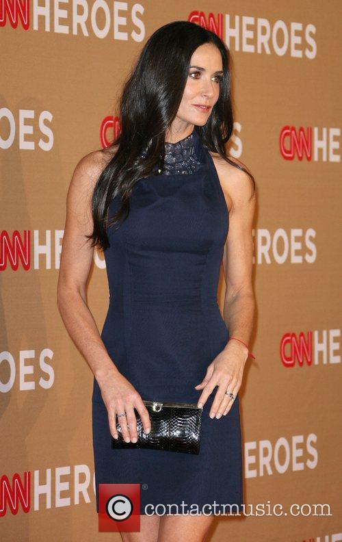 Demi Moore 2010 CNN Heroes: An All-Star Tribute...