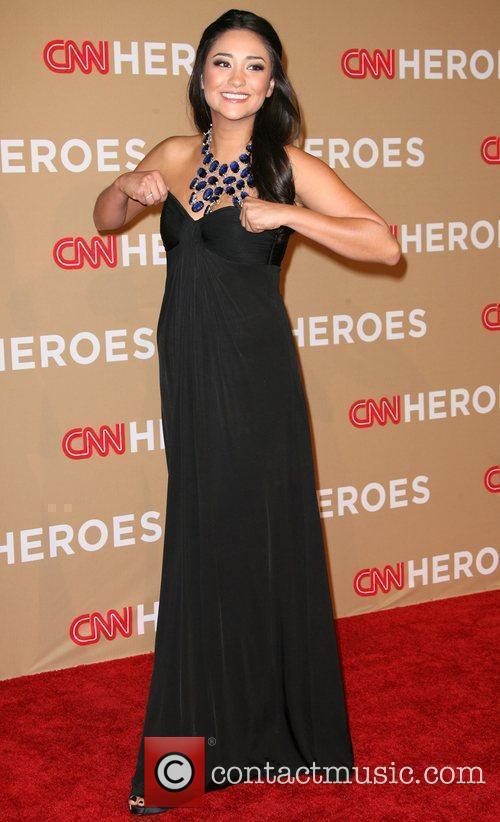 Shay Mitchell 2010 CNN Heroes: An All-Star Tribute...