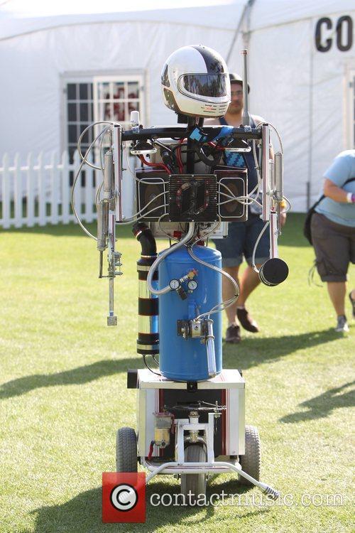 Robot At Coachella 3