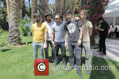 American band The Dillinger Escape Plan pose for...
