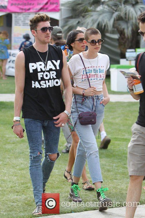 Henry Holland and Agyness Deyn at the 2010...