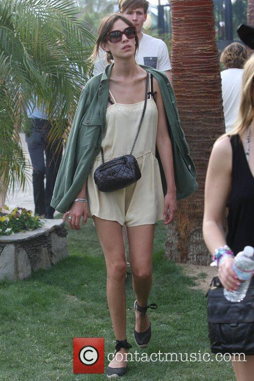 Alexa Chung at the Coachella Music Festival 2010...