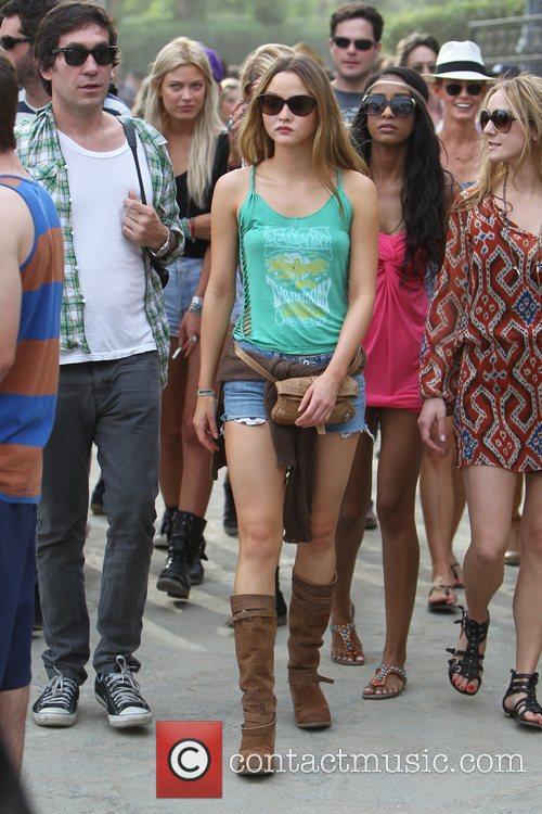 Devon Aoki at the Coachella Music Festival 2010...