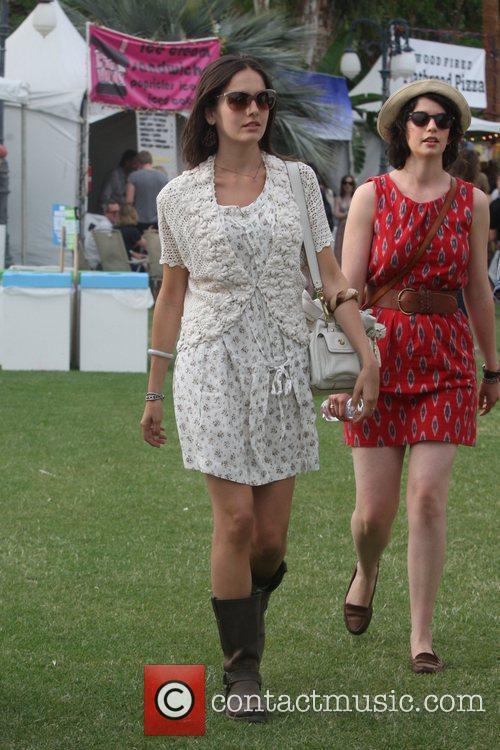 Camilla Belle at the 2010 Coachella Valley Music...