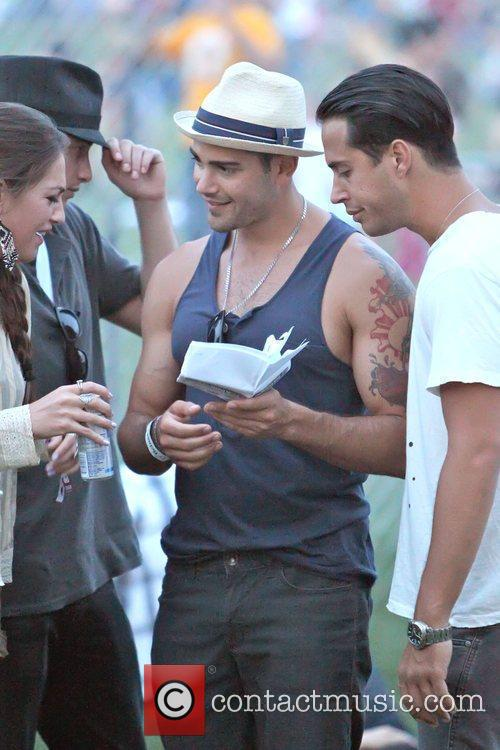 Jesse Metcalf at the 2010 Coachella Valley Music...