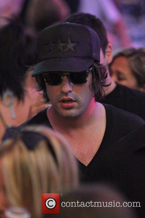 Jason Davies at the Coachella Music Festival 2010...
